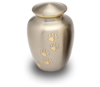 urne funeraire chat gris